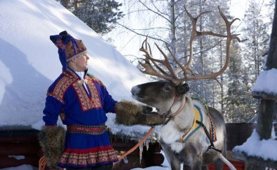 Visit Lapland to see Sami people