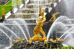 Peterhof Fountains