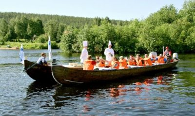 Rafting in Lapland