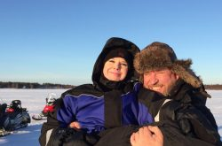 Ice fishing safari in Kemi