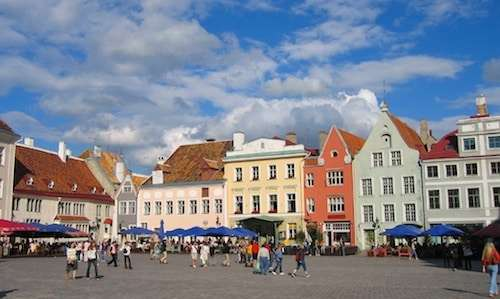 Panoramic tour of Tallinn