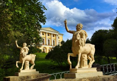 Pavlovsk Palace and Park shore excursion visa free