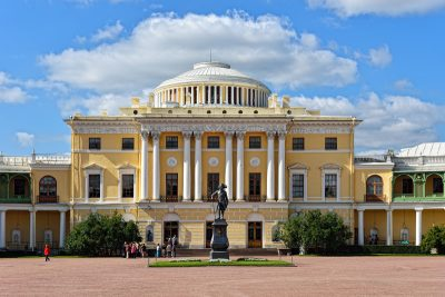 Shore excursion to Pavlovsk visa free
