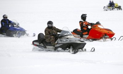 Snowmobile ride
