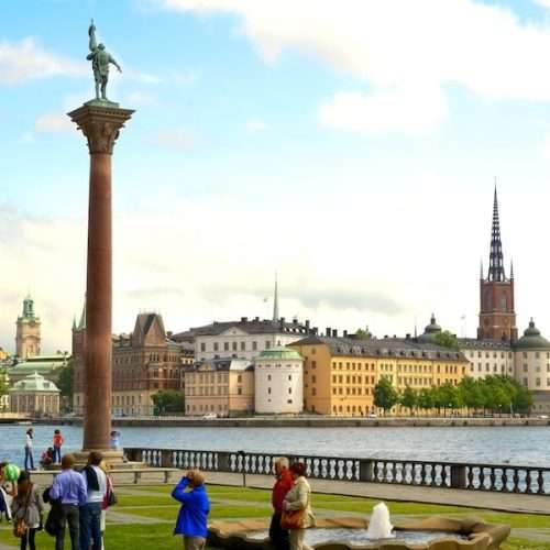 Panoramic tour of Stockholm